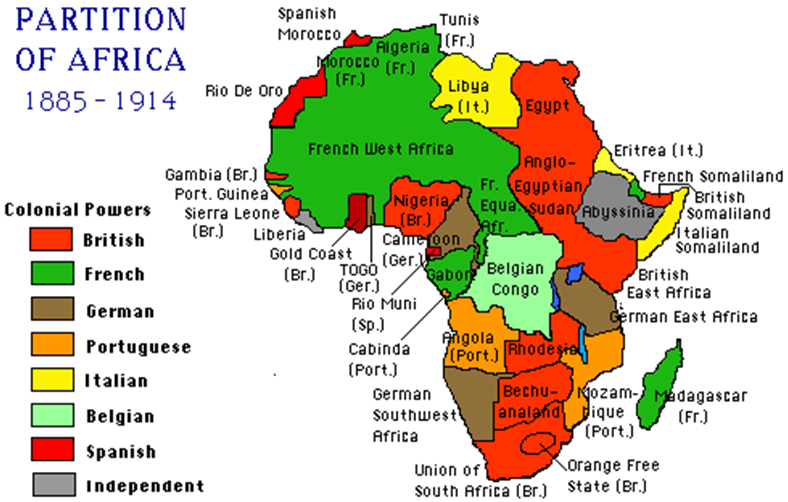 map of africa after berlin conference The Berlin Conference On Africa 1884 1885 Vc map of africa after berlin conference